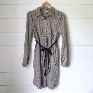 MOTHERHOOD MATERNITY Geometric Shirt Dress